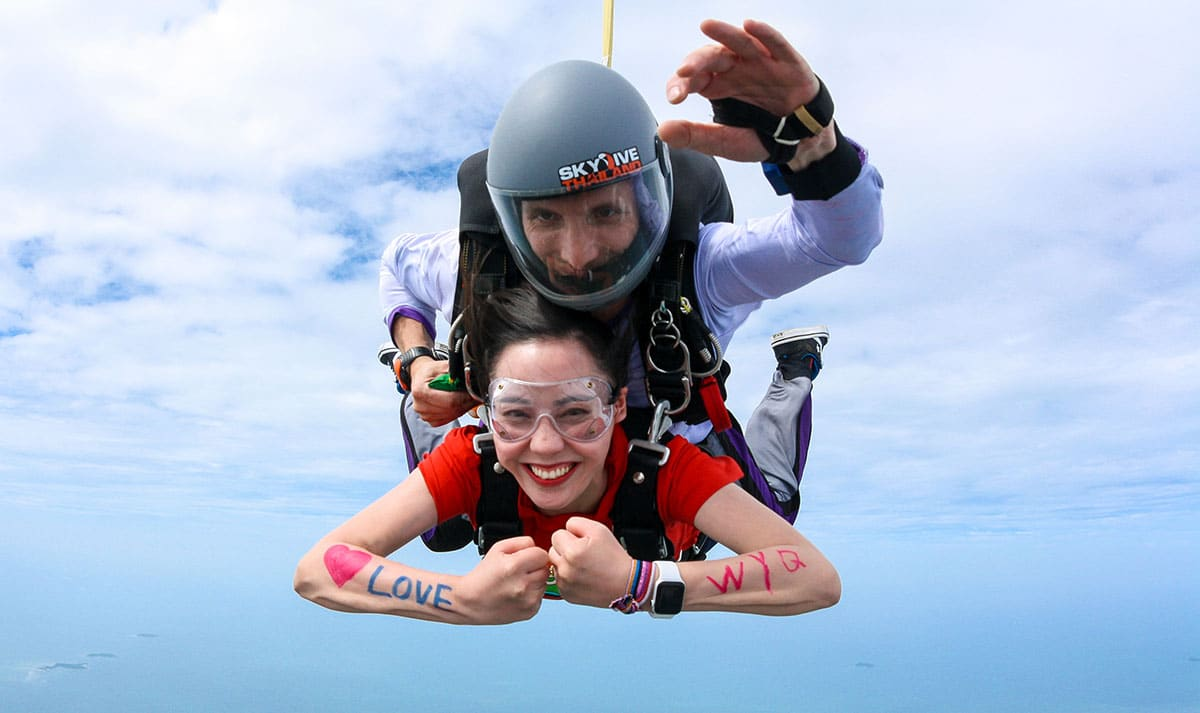 Skydiving Pattaya